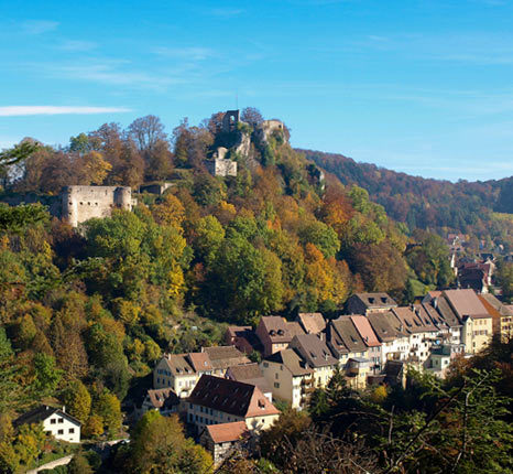 Walking tours of the 3 Alsatian Jura castles